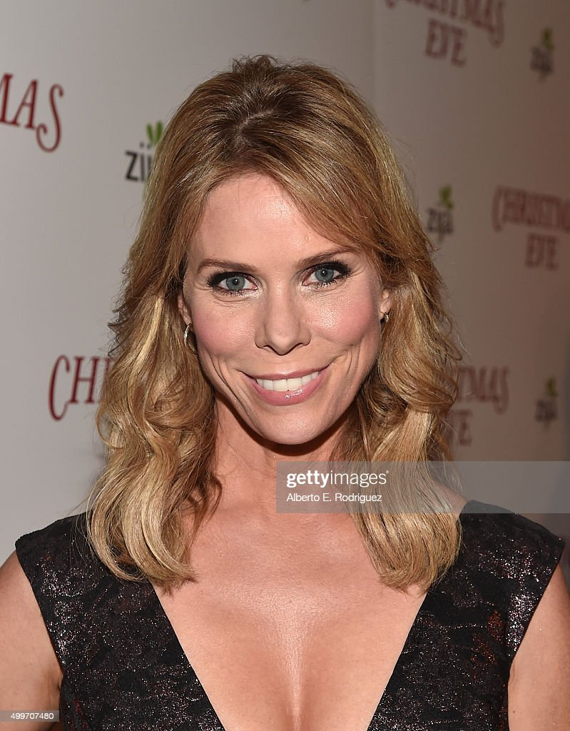 Actress Cheryl Hines attends the premiere of 'Christmas Eve' at ArcLight Hollywood on December 2, 2015 in Hollywood, California.