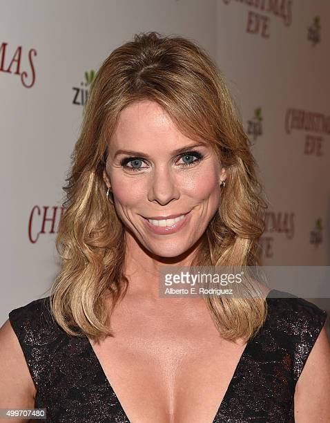 Actress Cheryl Hines attends the premiere of 'Christmas Eve' at ArcLight Hollywood on December 2 2015 in Hollywood California