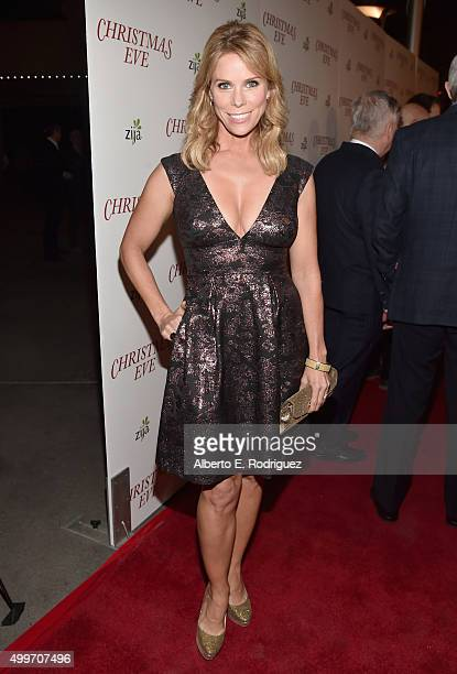 Actress Cheryl Hines attends the premiere of Christmas Eve at ArcLight Hollywood on December 2 2015 in Hollywood California