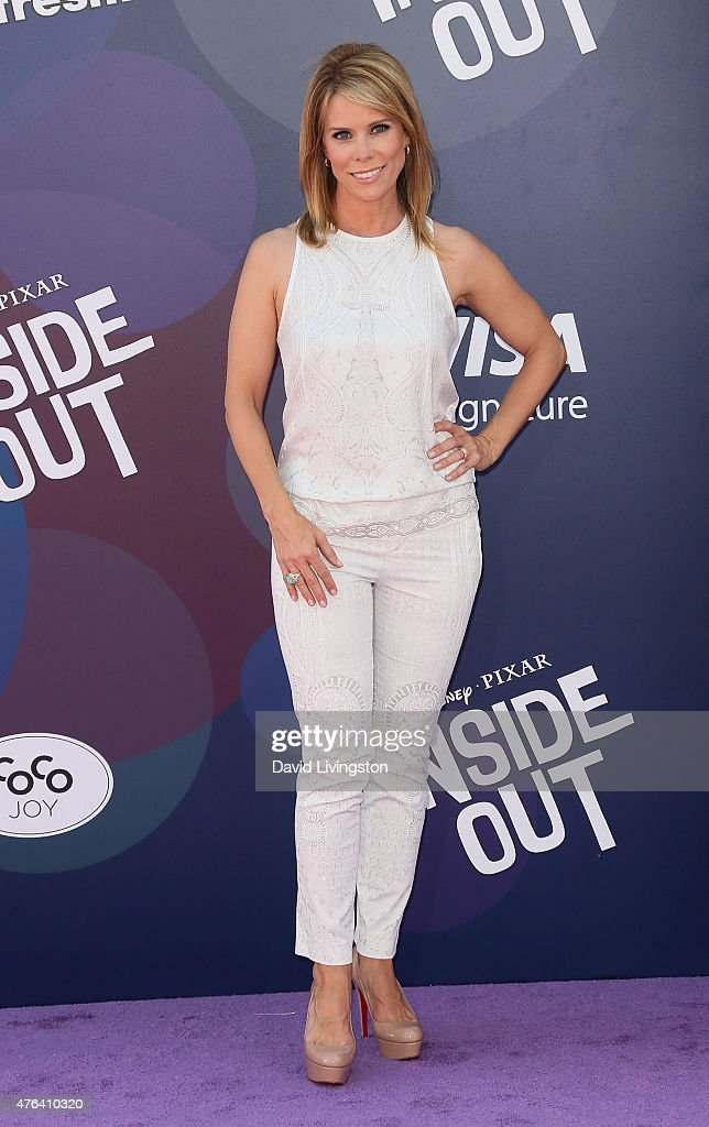 Actress Cheryl Hines attends the premiere of Disney-Pixar's