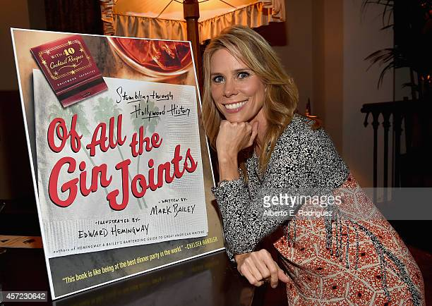 Actress Cheryl Hines attends the publication celebration of Mark Bailey and Ed Hemingway's Of All The Gin Joints Stumbling Through Hollywood History...