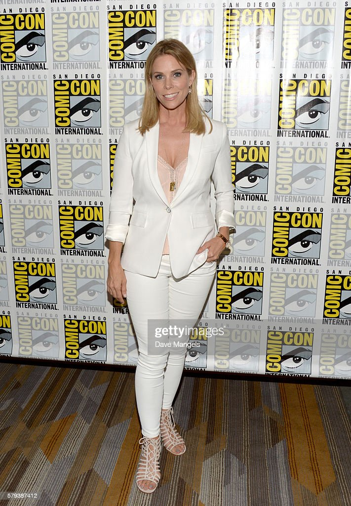 Actress Cheryl Hines attends the 'Son Of Zoran' press line during Comic-Con International on July 23, 2016 in San Diego, California.