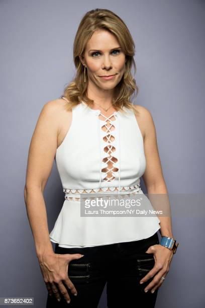Actress Cheryl Hines photographed for NY Daily News on October 9 in New York City