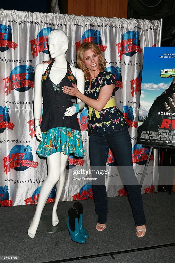 Cheryl Hines Of Columbia Pictures RV At Planet Hollywood : News Photo