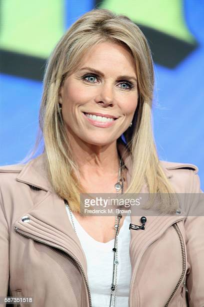 Actress Cheryl Hines speaks onstage at the 'Son of Zorn' panel discussion during the FOX portion of the 2016 Television Critics Association Summer...
