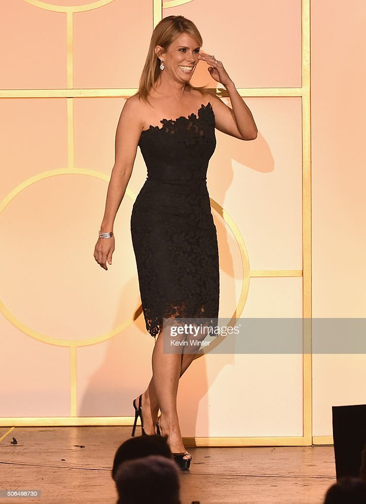 Actress Cheryl Hines walks onstage at the 27th Annual Producers Guild Of America Awards at the Hyatt Regency Century Plaza on January 23, 2016 in Century City, California.