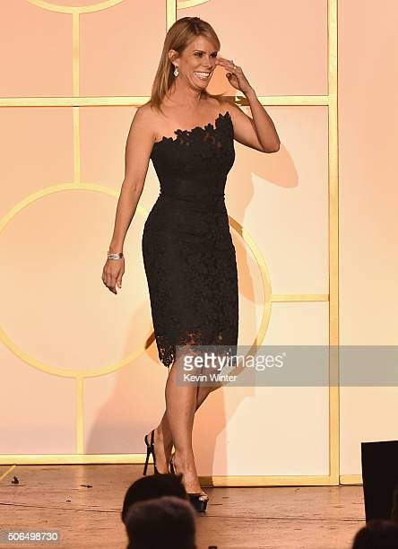 Actress Cheryl Hines walks onstage at the 27th Annual Producers Guild Of America Awards at the Hyatt Regency Century Plaza on January 23 2016 in...