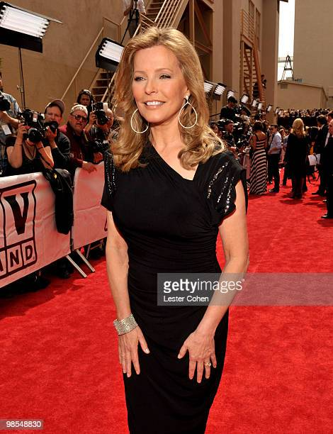 Actress Cheryl Ladd arrives at the 8th Annual TV Land Awards at Sony Studios on April 17 2010 in Los Angeles California