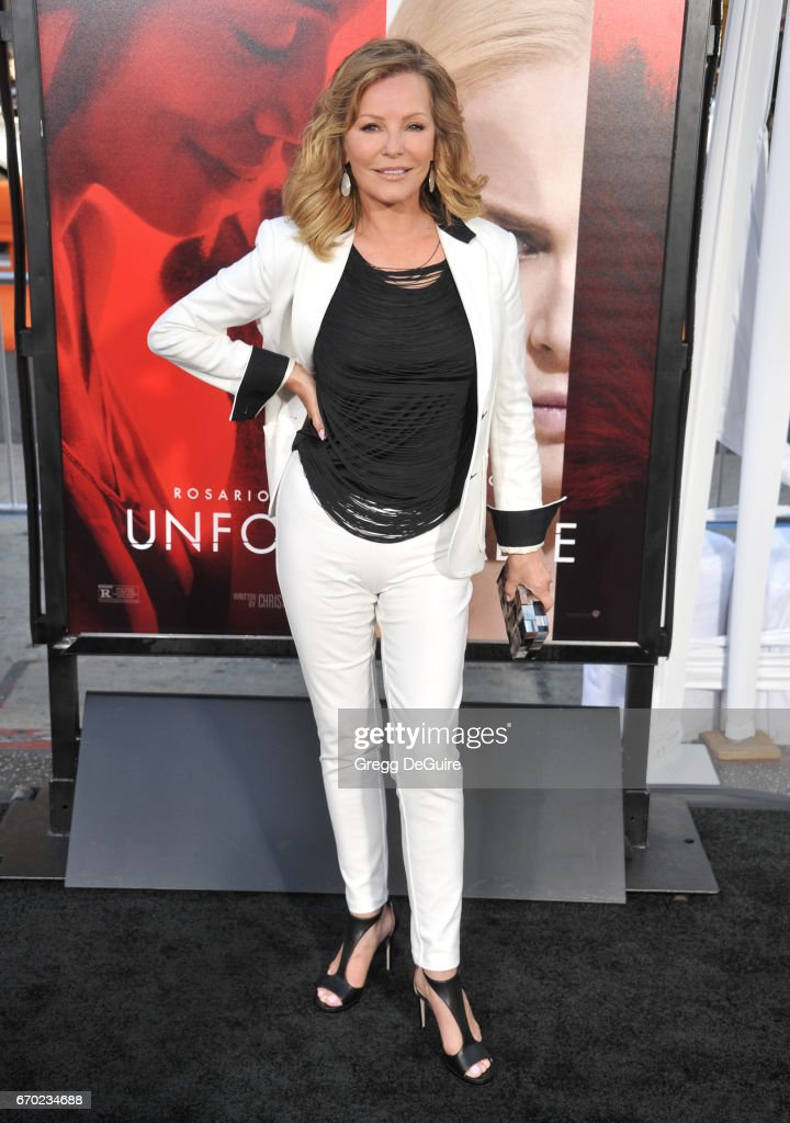 Actress Cheryl Ladd arrives at the premiere of Warner Bros. Pictures' 'Unforgettable' at TCL Chinese Theatre on April 18, 2017 in Hollywood, California.