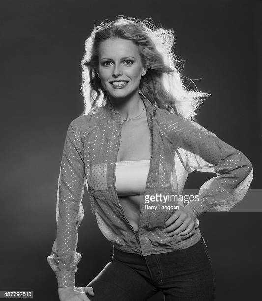 Actress Cheryl Ladd poses for a portrait in 1977 in Los Angeles California