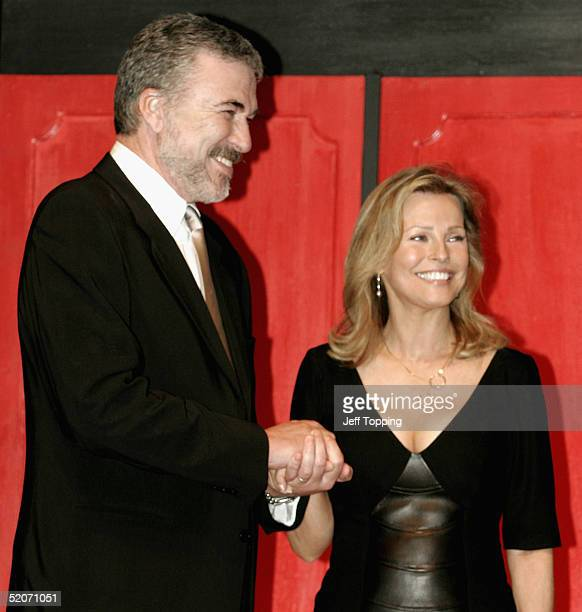 Actress Cheryl Ladd with her husband Brian Russell appears at the Childhelp USA Drive the Dream Gala as part of the BarrettJackson Classic Car...