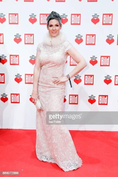 US actress Cheryl Shephard attends the 'Ein Herz fuer Kinder Gala' at Studio Berlin Adlershof on December 9 2017 in Berlin Germany