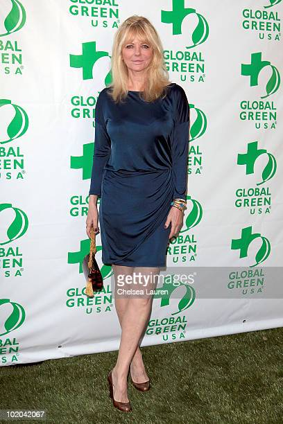Actress Cheryl Tiegs arrives at Global Green USA's 14th Annual Millennium Awards at Fairmont Miramar Hotel on June 12 2010 in Santa Monica California