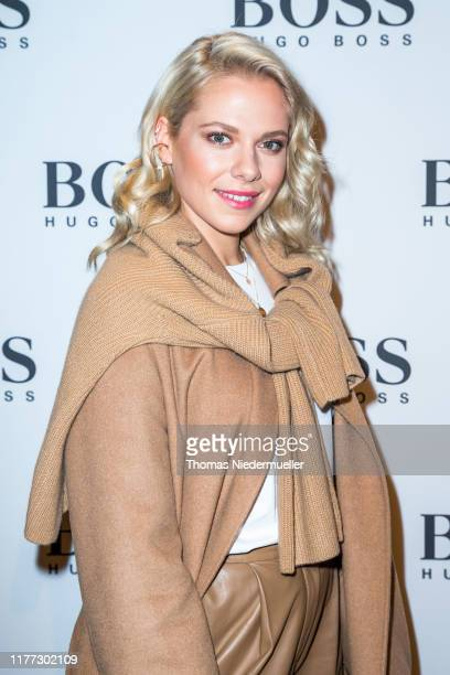 Actress Cheyenne Pahde attends the HUGO BOSS Outlet opening at Outlet-City on September 26, 2019 in Metzingen, Germany.
