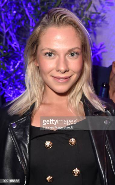 Actress Cheyenne Pahde attends the UFA Fiction Reception during the Munich Film Festival 2016 at Cafe Reitschule on July 2 2018 in Munich Germany