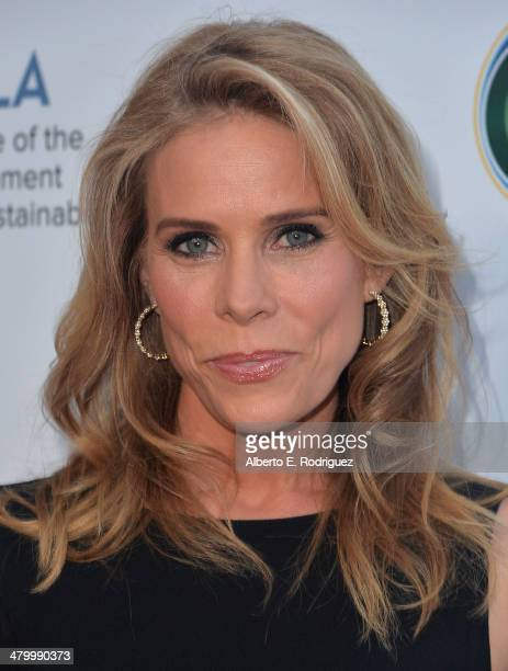 Actress Cheyl Hines attends An Evening of Environmental Excellence presented by the UCLA Institute of the Environment and Sustainability on March 21...