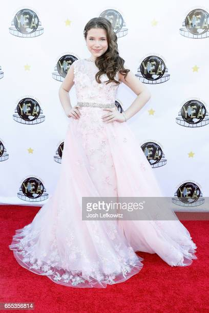 Actress Chiara D'Ambrosio attends the 2nd Annual Young Entertainer Awards at the Globe Theatre on March 19 2017 in Universal City California