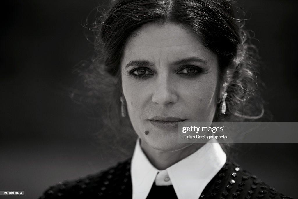 Chiara Mastroianni and Benjamin Biolay, Madame Figaro, May 5, 2017