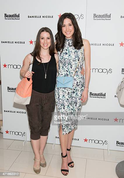 Actress Chilina Kennedy and designer Danielle Nicole visit Macy's Herald Square on May 1 2015 in New York City