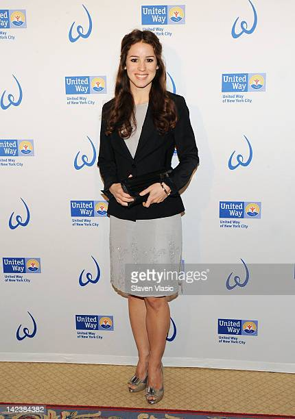 Actress Chilina Kennedy attends United Way Of New York City's Women's Leadership Council's 6th Annual Power Of Women To Make A Difference awards...