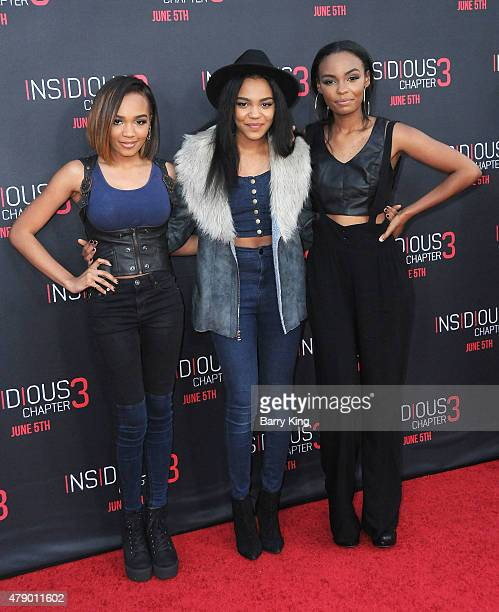 Actress China Anne McClain and guests attend the premiere of Focus Features' 'Insidious Chapter 3' at the TCL Chinese Theatre on June 4 2015 in...