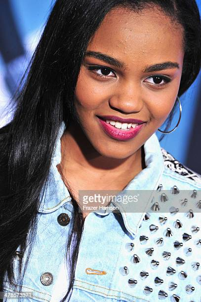 Actress China Anne McClain arrives at the premiere Of Marvel's 'Captain AmericaThe Winter Soldier at the El Capitan Theatre on March 13 2014 in...