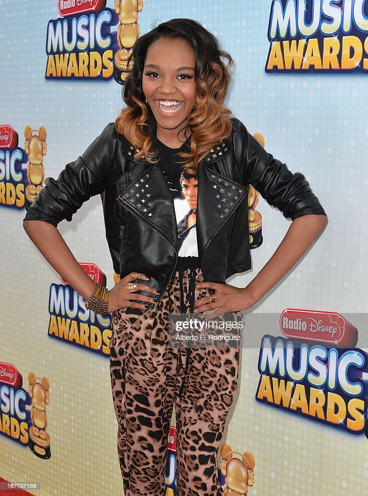 Actress China Anne McClain arrives to the 2013 Radio Disney Music Awards at Nokia Theatre L.A. Live on April 27, 2013 in Los Angeles, California.