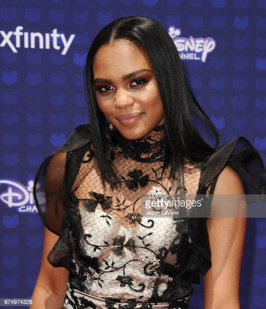 Actress China Anne McClain attends the 2017 Radio Disney Music Awards at Microsoft Theater on April 29 2017 in Los Angeles California