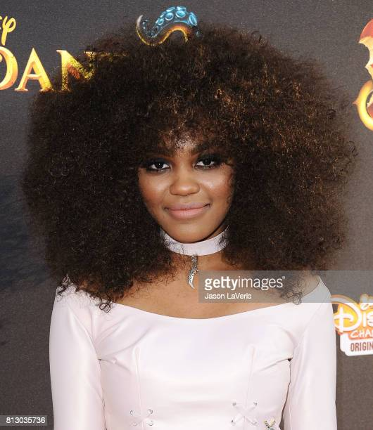 Actress China Anne McClain attends the premiere of 'Descendants 2' at The Cinerama Dome on July 11 2017 in Los Angeles California