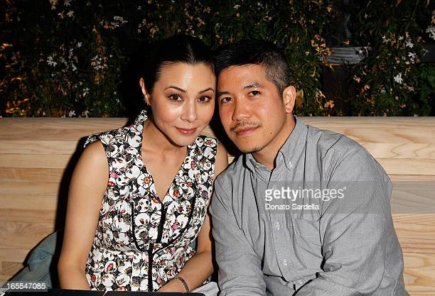 Actress China Chow and Designer Thakoon Panichgul attend Vogue's Triple Threats dinner hosted by Sally Singer and Lisa Love at Goldie's on April 3...