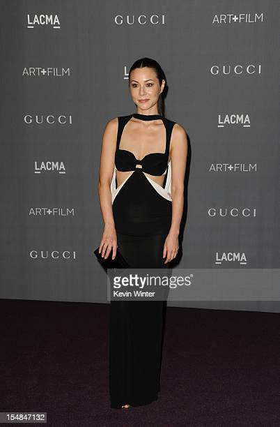 Actress China Chow arrives at LACMA 2012 Art Film Gala at LACMA on October 27 2012 in Los Angeles California