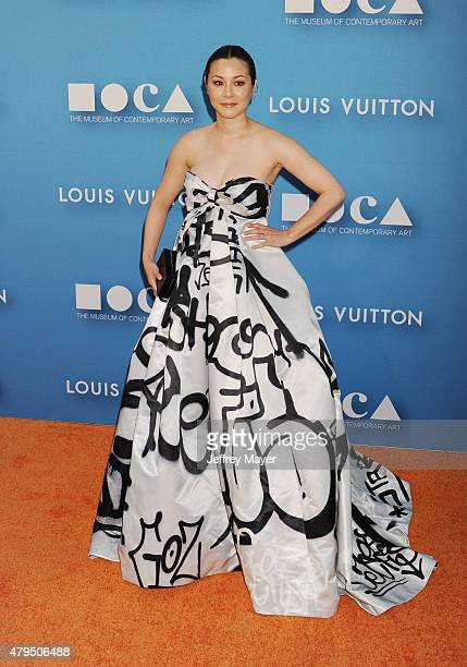 Actress China Chow arrives at the 2015 MOCA Gala presented by Louis Vuitton at The Geffen Contemporary at MOCA on May 30 2015 in Los Angeles...