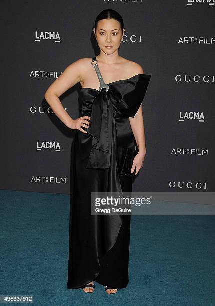 Actress China Chow arrives at the LACMA 2015 ArtFilm Gala Honoring James Turrell And Alejandro G Inarritu Presented By Gucci at LACMA on November 7...