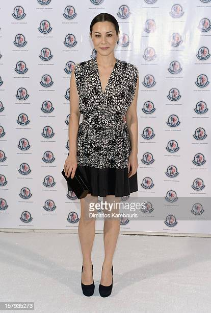 Actress China Chow attends a private dinner celebrating Remo Ruffini and Moncler's 60th Anniversary during Art Basel Miami Beach on December 7 2012...
