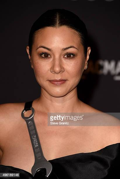Actress China Chow attends LACMA 2015 ArtFilm Gala Honoring James Turrell and Alejandro G Iñárritu Presented by Gucci at LACMA on November 7 2015 in...