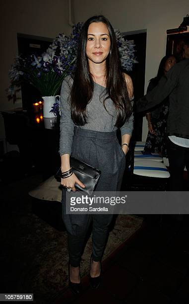 Actress China Chow attends the 2010 CFDA Vogue Fashion Fund Finalists Celebration with Frederic Fekkai and Lisa Love at Chateau Marmont on October 19...