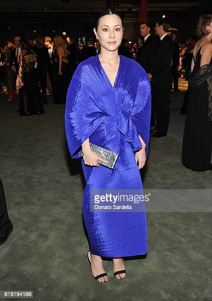 Actress China Chow attends the 2016 LACMA Art Film Gala Honoring Robert Irwin and Kathryn Bigelow Presented By Gucci at LACMA on October 29 2016 in...