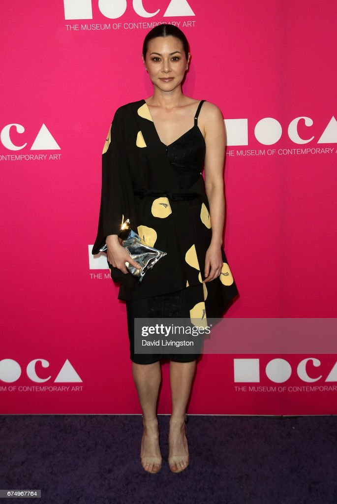 Actress China Chow attends the 2017 MOCA Gala at The Geffen Contemporary at MOCA on April 29, 2017 in Los Angeles, California.