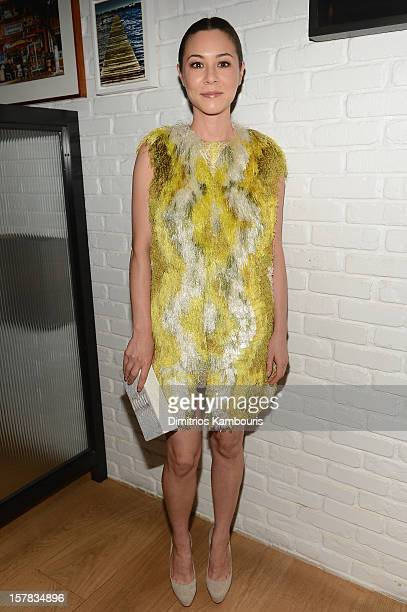 Actress China Chow attends the Aby Rosen Samantha Boardman dinner at The Dutch on December 6 2012 in Miami Florida