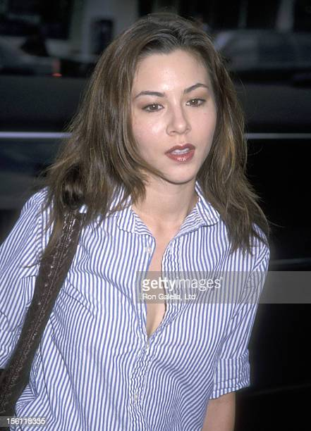 Actress China Chow attends the 'Final Fantasy: The Spirits Within' Westwood Premiere on July 2, 2001 at Mann Bruin Theatre in Westwood, California.