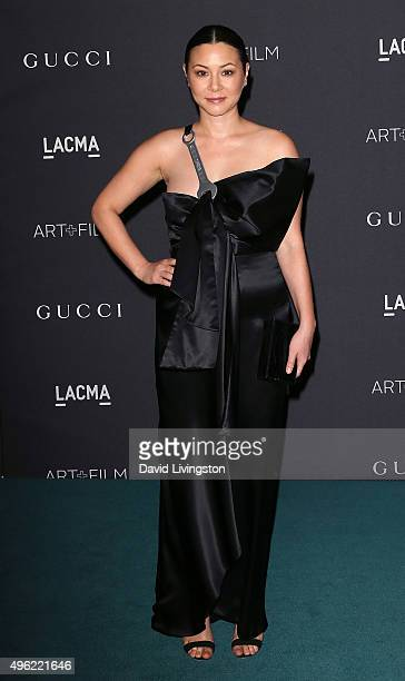 Actress China Chow attends the LACMA Art Film Gala honoring Alejandro G Iñárritu and James Turrell and presented by Gucci at LACMA on November 7 2015...