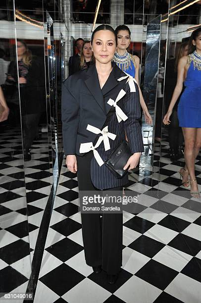 Actress China Chow attends W Magazine Celebrates the Best Performances Portfolio and the Golden Globes with Audi and Moet Chandon at Chateau Marmont...