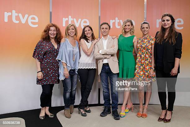 Actress Chiqui Fernandez actress Eva Isanta Actress Malena Alterio actor Jose Mota actress Norma Ruiz actress Macarena Gomez and actress Marisa Jara...