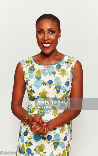 Actress Chistine Adams from CW's 'Black Lightning' poses for a portrait during ComicCon 2017 at Hard Rock Hotel San Diego on July 21 2017 in San...