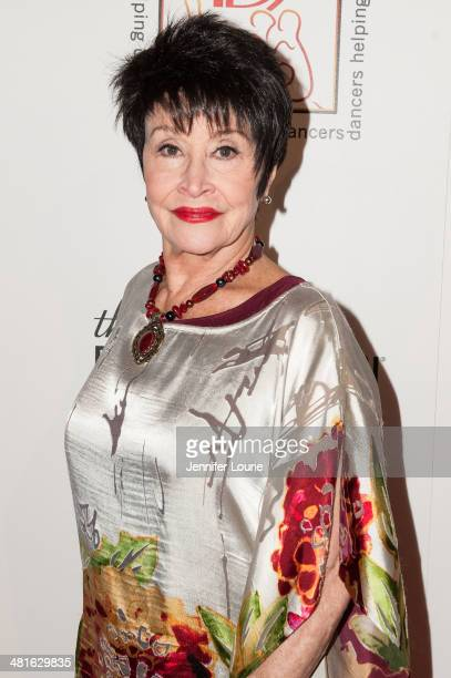 Actress Chita Rivera arrives at the Professional Dancers Society's 27th Annual Gypsy Award Luncheon hosted at The Beverly Hilton Hotel on March 30...