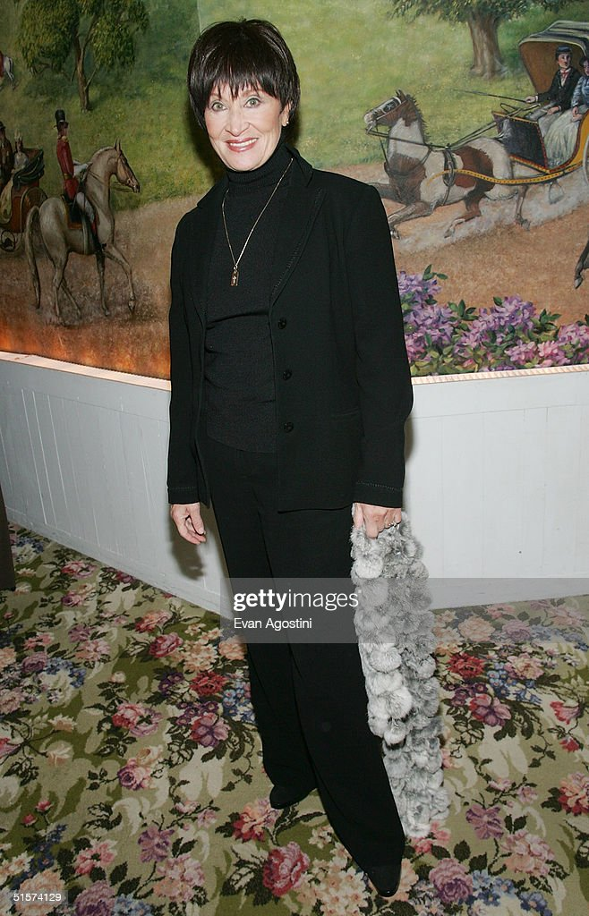 Actress Chita Rivera attends the 2004 Tony Honors For Excellence In Theater luncheon at Tavern On The Green October 26, 2004 in New York City.