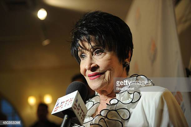 Actress Chita Rivera attends the 2014 National Yiddish Theatre/Folksbiene Gala 'Raising The Roof' at Town Hall on June 9 2014 in New York City