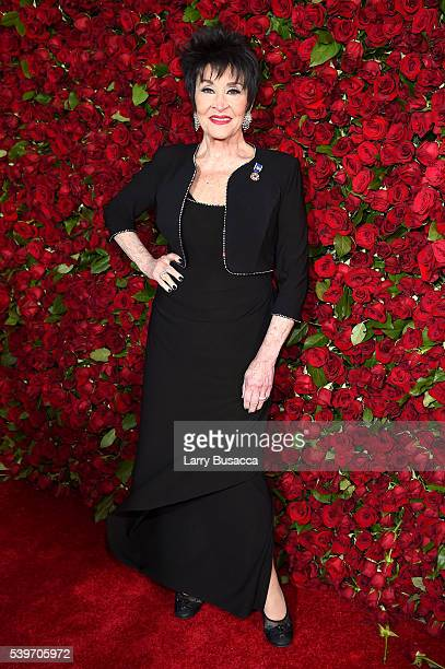 Actress Chita Rivera attends the 70th Annual Tony Awards at The Beacon Theatre on June 12 2016 in New York City