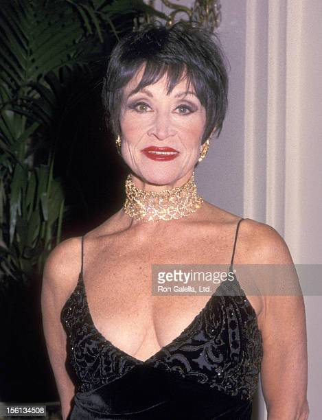 Actress Chita Rivera attends the The Drama League's 16th Annual Gala Salute to Liza Minnelli on January 31 2000 at Pierre Hotel in New York City New...