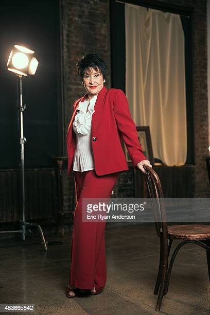Actress Chita Rivera is photographed for The Hollywood Reporter on May 5 2015 in New York City